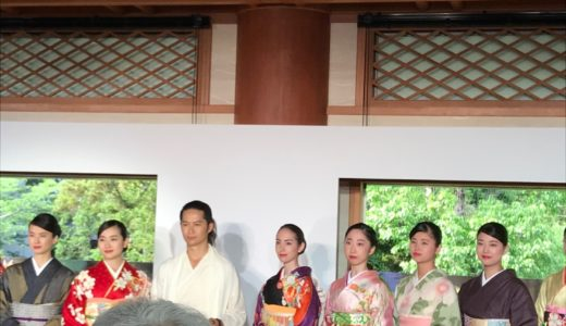 5月29日鎌倉,鶴岡八幡宮「日本の心・日本の絆」 美しき自然・彩の着物